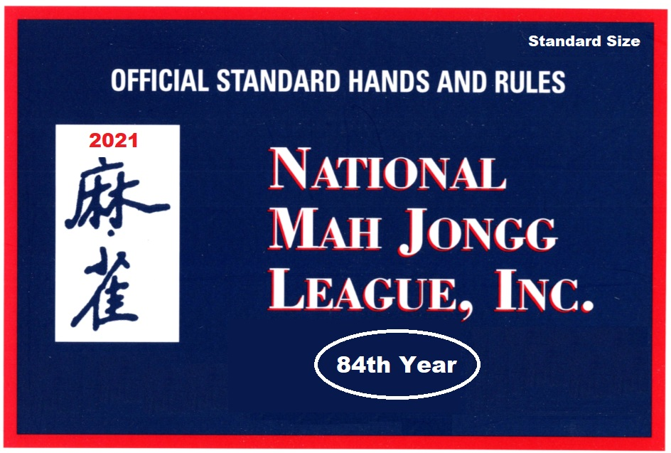 National Mah Jongg League 2021 Card - Official Hands and Rules
